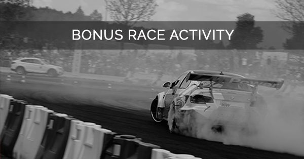BONUS RACE ACTIVITY